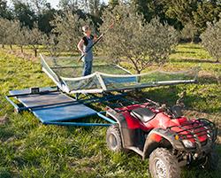 Nacelle de récolte d'olives Novaxion Oléiculture